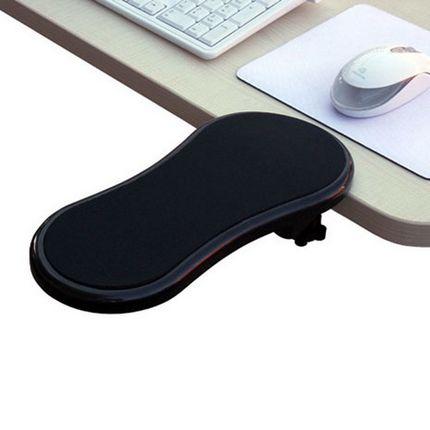 電腦手托架 滑鼠托架腕墊電腦桌手托板護腕滑鼠墊可旋轉手臂支撐架『J6015』