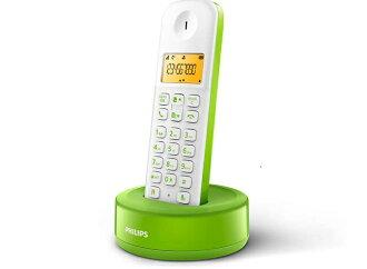 PHILIPS 飛利浦 無線電話 D1301 / D1301WN 綠色款