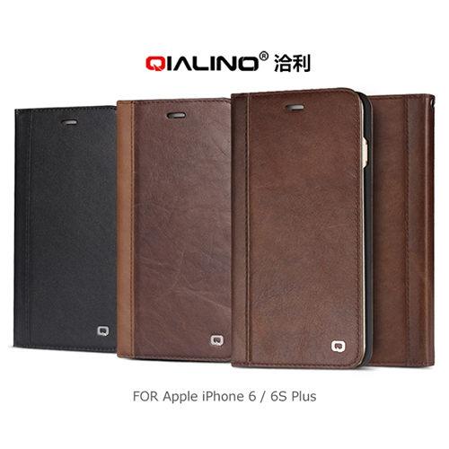 【愛瘋潮】QIALINO 洽利 Apple iPhone 6 Plus / 6S Plus 經典皮套升級版 手機殼