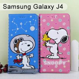 SNOOPY彩繪皮套[筆記本]SamsungGalaxyJ4(5.5吋)史努比【正版授權】
