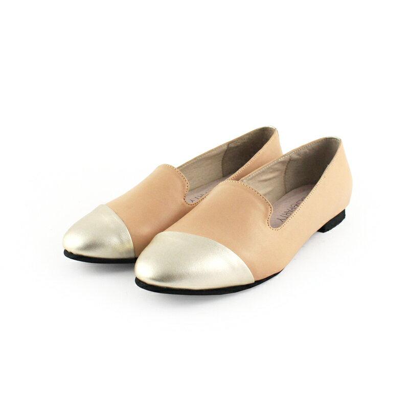 【 C2-17203L 】真皮拼接歐貝拉_Shoes Party 4
