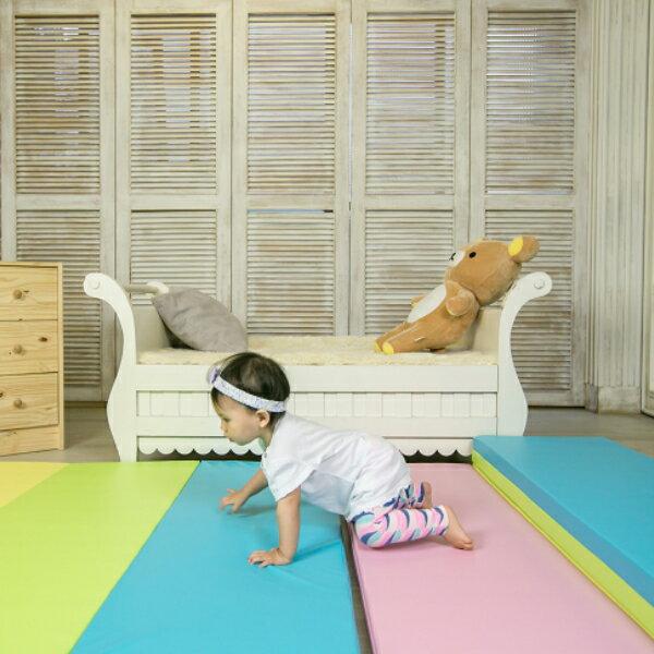 *babygo*【Mang Mang】小鹿蔓蔓-兒童摺疊遊戲地墊(4cm) 糖果色系
