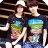 ◆快速出貨◆T恤.情侶裝.班服.MIT台灣製.獨家配對情侶裝.客製化.純棉短T.漫步彩虹夾腳拖【YC461】可單買.艾咪E舖 1