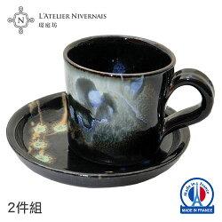 法國手作濃縮咖啡杯組 (黑彩)★全店超取滿699免運