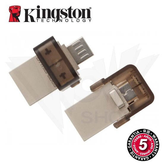 金士頓 Kingston 16GB DataTraveler microDuo OTG 2