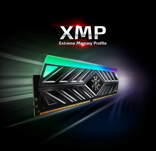 ADATA: XPG SPECTRIX D41 RGB Desktop Memory Series: 16GB (2x8GB) DDR4 3000MHz CL16 Tungsten | Rakuten.com