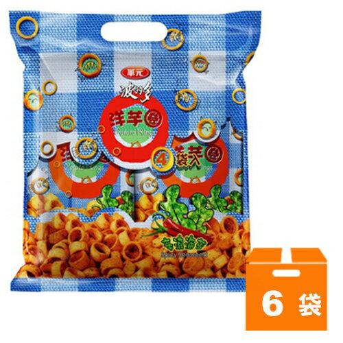 華元 波的多洋芋圈-新浪海苔口味 140g (6袋)/箱