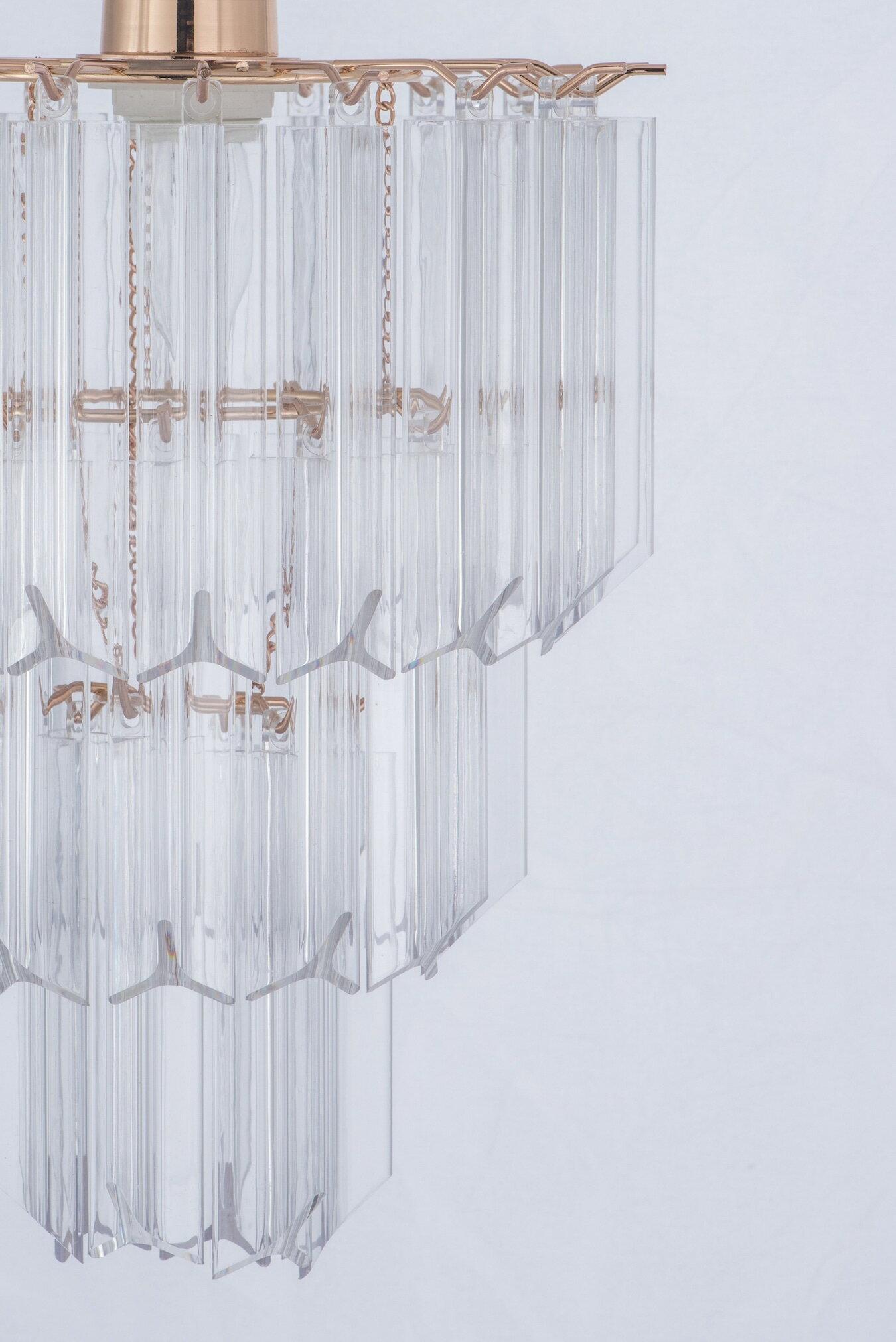 法國金透明壓克立吊燈-BNL00067 5