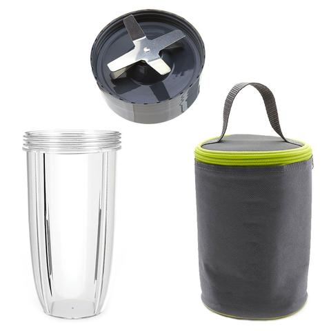 NutriBullet Extractor Blade 600W 900W + 32oz Colossal Cup + Blast Off Bag Bundle 5d5ddb98487d5c1ab8625c6d303f2dc2