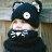 毛帽 萌卡通可愛貓咪披肩針織毛線帽【YJM-A147】 BOBI  10/13 0
