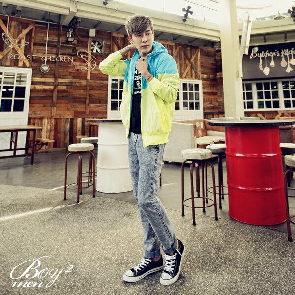 ☆BOY-2☆【PPK88016】韓版多彩風衣防風外套 3