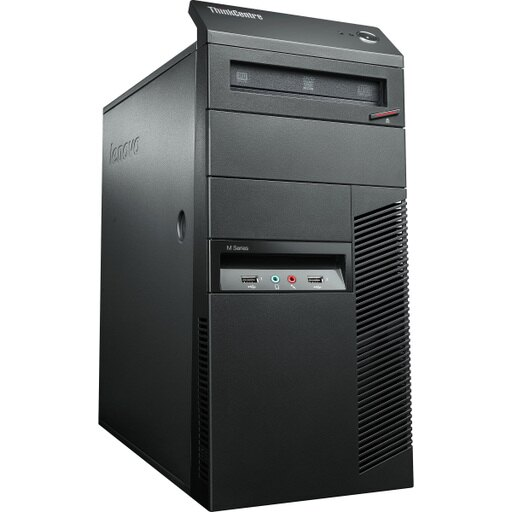Lenovo ThinkCentre M78 2111C2U Desktop Computer - AMD A-Series A4-5300 3.40 GHz - Tower - Business Black - 2 GB DDR3 SDRAM RAM - 250 GB HDD - DVD-Writer DVD-RAM/R/RW - AMD Radeon HD 7480D - Windows 8 Pro 64-bit - 10 x Total Number of USB Port(