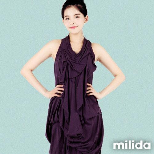 【Milida,全店七折免運】-春夏商品-無袖款-露背小禮服 2