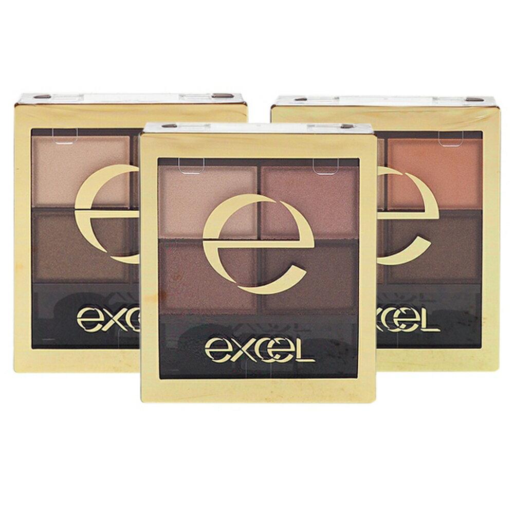 日本 Excel 裸色深邃眼影(31g含裝) 多款可選【小三美日】◢D488078