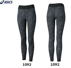 ASICS亞瑟士(女)服飾 / 下著 / fuzeX女印花緊身褲XXL864-1092 [陽光樂活]