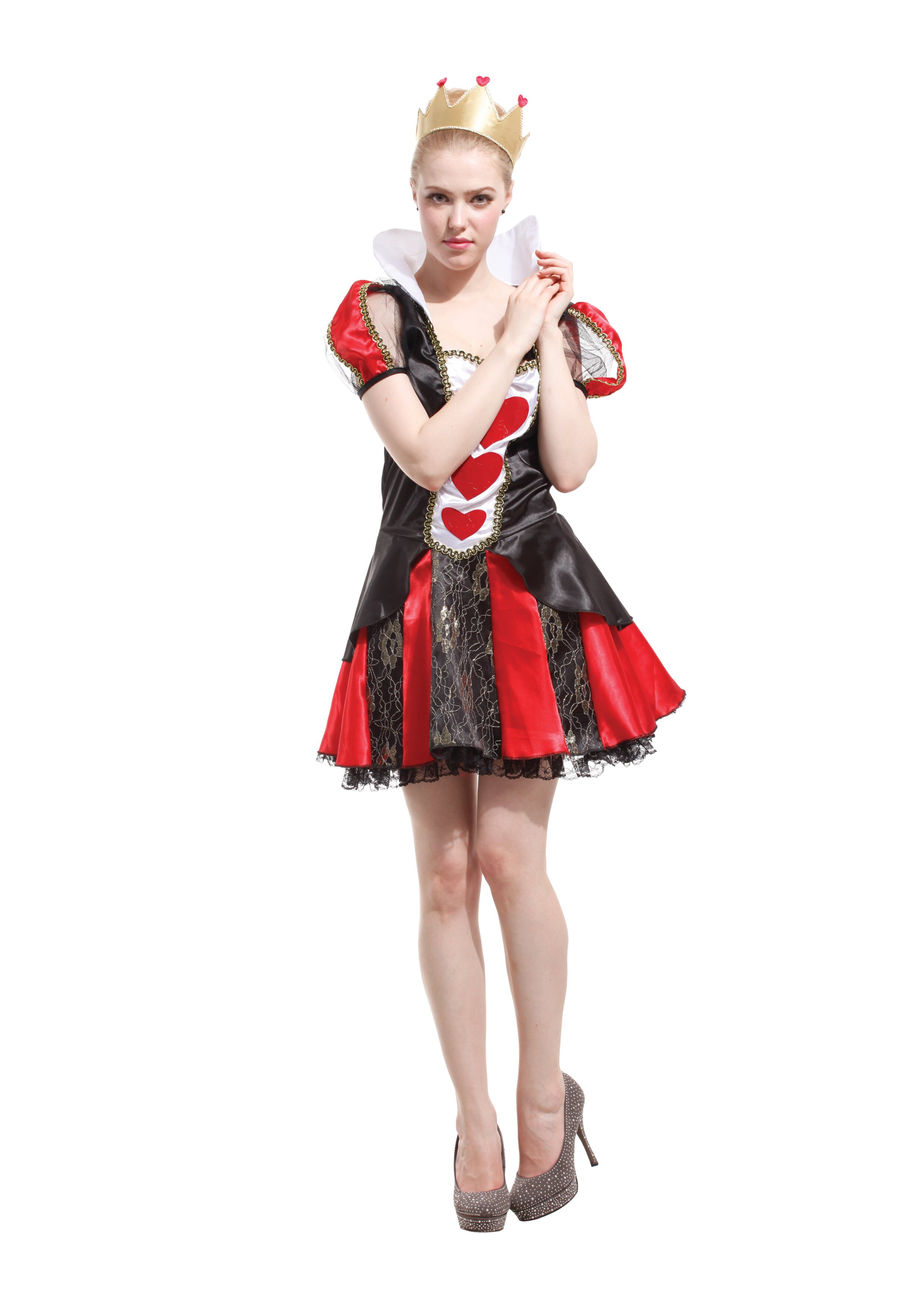 X射线【W380027】甜心皇后, 公主/尾牙/万圣/圣诞/大人变装/cosplay/表演/摄影/写真/话剧/童话/道具/舞会