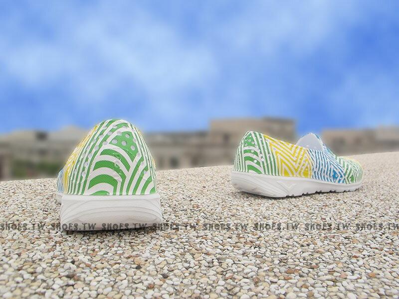 《下殺5折》Shoestw【62K1SA62YW】PONY TROPIC 水鞋 童鞋 軟Q 防水 洞洞鞋 三色冰 親子鞋 2