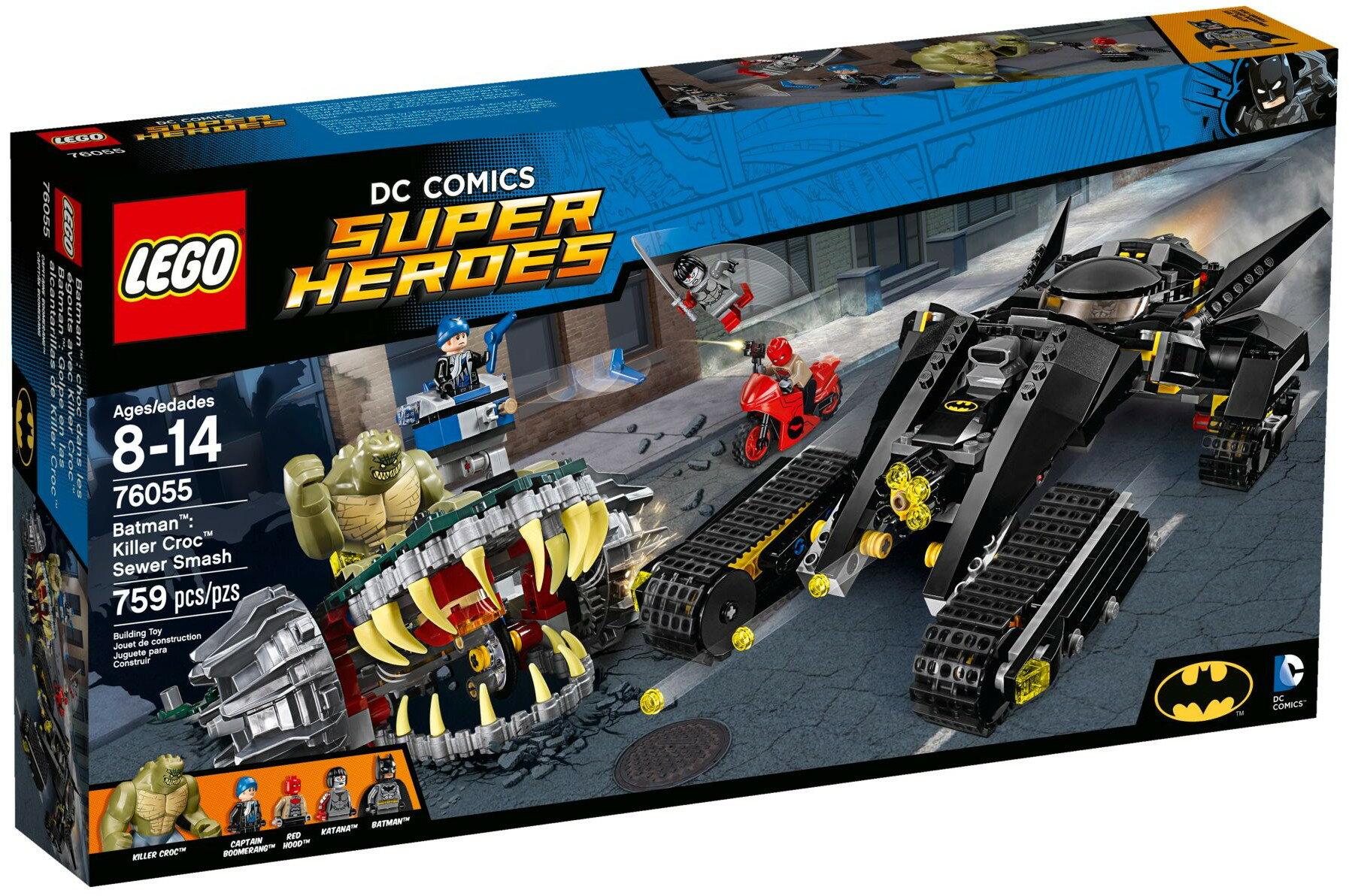 【瞎買天堂x3/3到貨】樂高 LEGO 蝙蝠俠 Killer Croc Sewer Sma 76055【TYLEBM04】