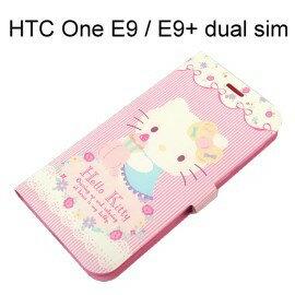 Hello Kitty 彩繪皮套 [甜點] HTC One E9 / E9+ dual sim (E9 Plus)【三麗鷗正版授權】