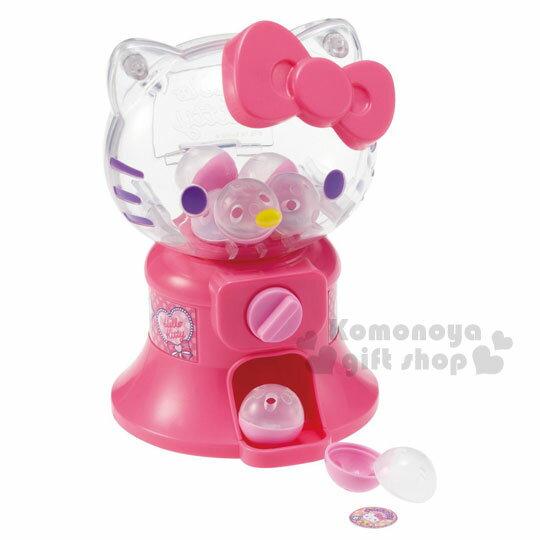 〔小禮堂〕Hello Kitty 扭蛋機 玩具《粉.糖果.棒棒糖.透明大臉.泡殼》增加親子互動