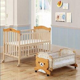 加大嬰兒床 實木 小床 大床 蚊帳