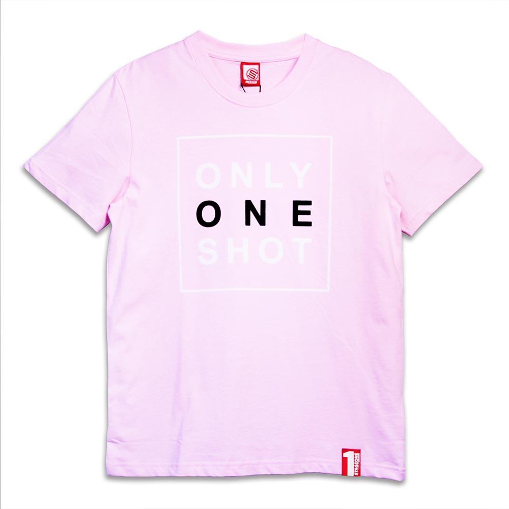 STAGEONE ONE SHOT TEE 黑色 / 粉紅色 兩色 2