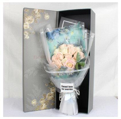 Pinky Shop:夢幻玫瑰香皂花束七夕禮盒花束預購商品810開始出貨000212