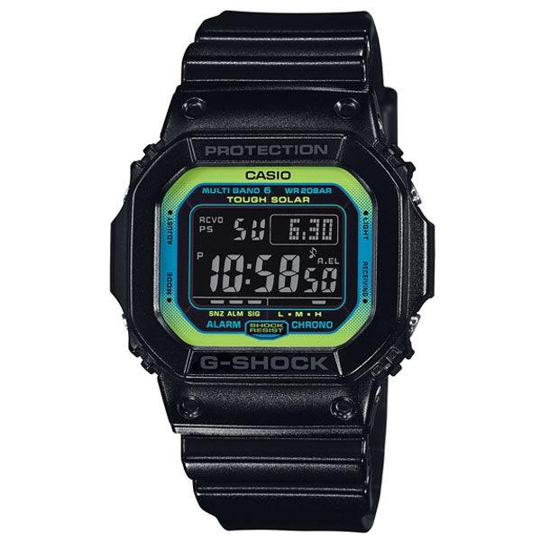 CASIO G-SHOCK GW-M5610LY-1電波萊姆綠數位時尚腕錶/綠面46.7mm