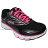 《限時特價799元》 Shoestw【5J589Q965】FILA 輕量慢跑訓練鞋 黑桃紅 女款 1