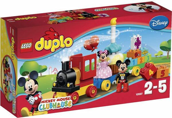 【LEGO 樂高積木】Duplo得寶系列 - 米奇和米妮的生日巡遊典禮 LT-10597