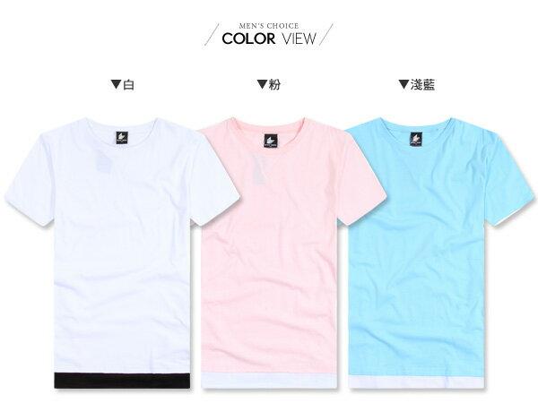 ☆BOY-2☆【KKL2020】韓版假兩件短袖五分T 1