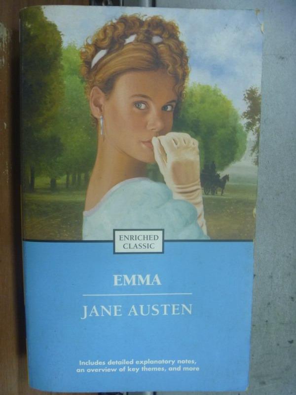 ~書寶 書T3/原文小說_MOC~Emma_Jane Austen