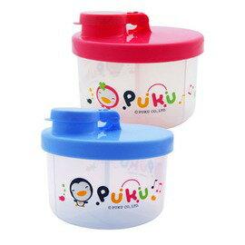 PUKU藍色企鵝 - 小三格奶粉盒 (藍/紅)
