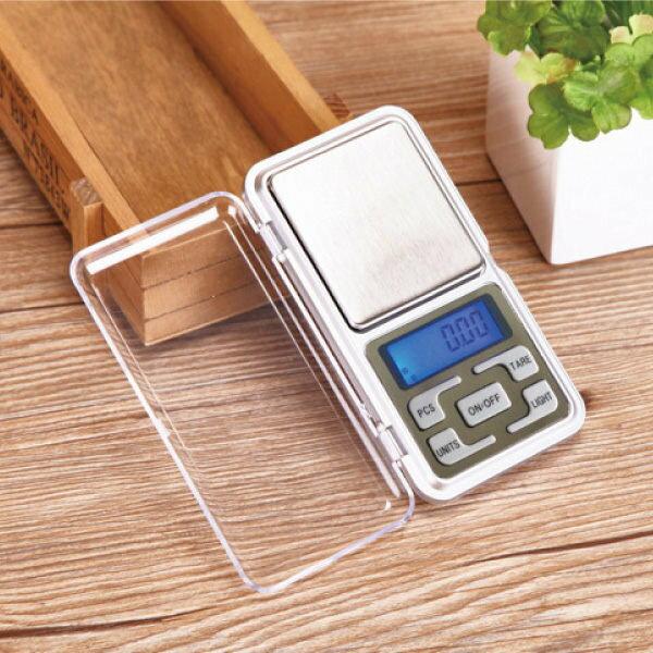 迷你電子秤 500g 廚房用電子秤 電子式 珠寶秤【櫻桃飾品】【25650】