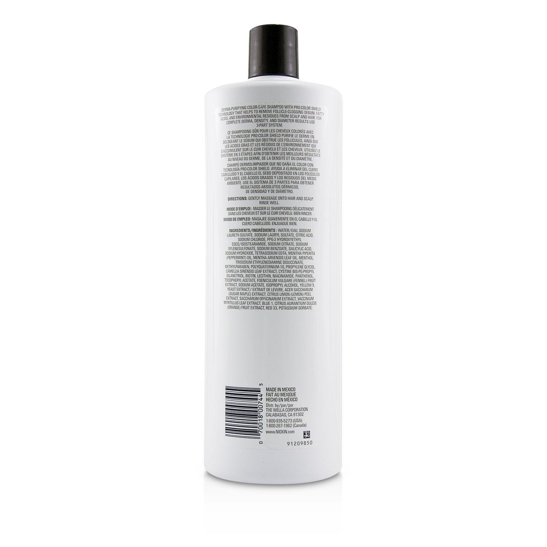 儷康絲 Nioxin - 潔淨系統4號潔淨洗髮露Derma Purifying System 4 Cleanser Shampoo(細軟髮/染燙髮)