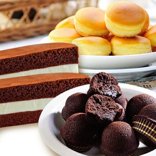 布朗尼1盒+乳酪球1盒+起士棒1盒(免運)★【大溪老店─杏芳食品】★熱銷組合★ 0