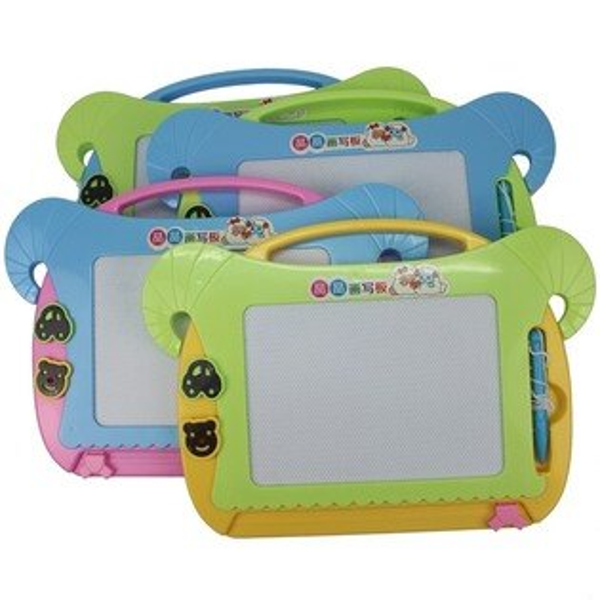彩色羊磁粉畫板TK-712彩色面畫寫板一個入{促180}磁粉白板磁性寫字板環保白板~6229