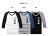 ☆BOY-2☆【NR05099】美式簡約星星條紋素面修身印花拼接配色七分袖T恤 1