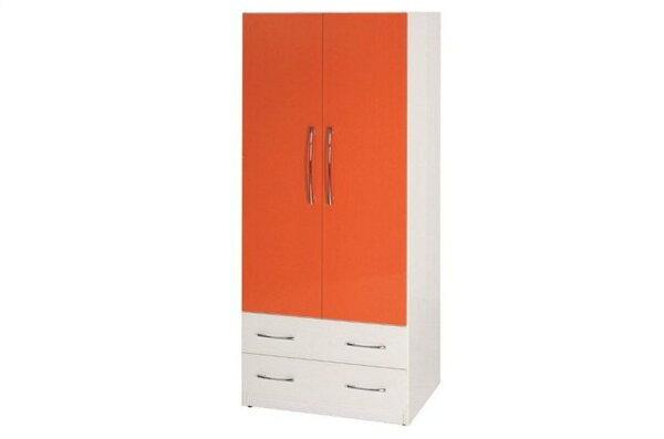 【石川家居】822-09(桔白色)衣櫥(CT-110)#訂製預購款式#環保塑鋼P無毒防霉易清潔