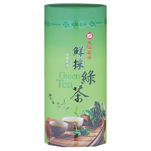 天仁茗茶台灣茗品-鮮採綠茶225g【愛買】