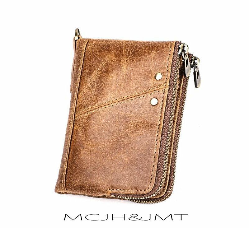 ㊣木村井泓 真皮牛仔造型短夾 MCJH&JMT 卡片包 零錢包 名片包 證件包 長夾 短錢包 皮夾(E3533)