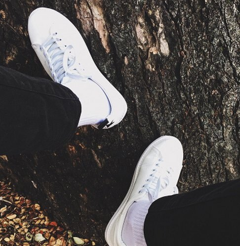 BIRDYEDGE 韓國 正品 小白鞋 白色皮鞋 牛皮鞋 真皮鞋懶人厚底 版鞋 球鞋 低筒鞋 korea znif 正品