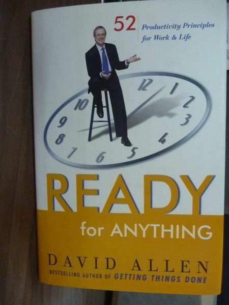 ~書寶 書T7/原文書_QGJ~Ready for Anything_David Alle