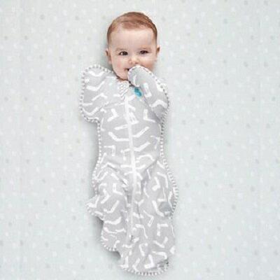 Love To Dream SWADDLE UP蝶型包巾 Stage1 (0歲~6個月)新生兒包覆款★竹纖維輕薄款★-幾合款