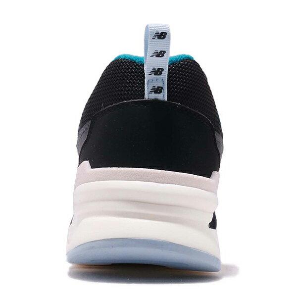 Shoestw【CW997HNB】NEW BALANCE NB997 復古休閒鞋 皮革 網布 黑藍米白 女生尺寸 4