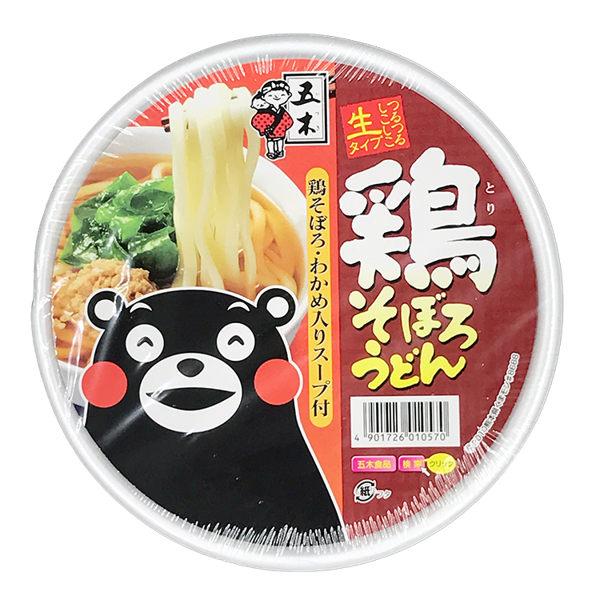 日本 五木 雞肉烏龍麵(161g)【庫奇小舖】
