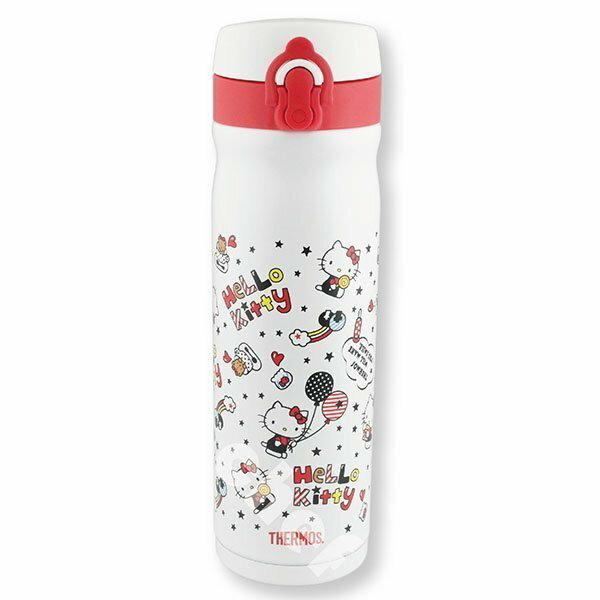 【聯名獨賣】膳魔師HELLO KITTY保溫杯彈蓋保溫瓶0.5L快樂篇-大廚師百貨 聖誕交換禮物推薦
