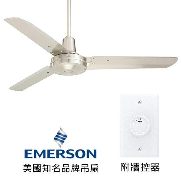 "[topfan]Emerson48""IndustrialFans48英吋吊扇(HF948BS)刷鐵色(適用於110V電壓)"