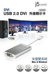 KaiJet 凱捷 JUA230 USB 2.0 DVI 外接顯示卡