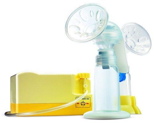 貝瑞克 6S 第6代豪華手電動兩用吸乳器-黃 『121婦嬰用品館』